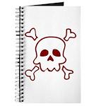 Cartoon Skull & Crossbones Journal