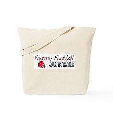 Fantasy Football Junkie Tote Bag