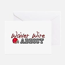 Waiver Wire Addict Greeting Card