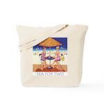 Sea for Two - Beach Tote Bag