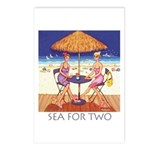 Sea for Two - Beach Postcards (Package of 8)