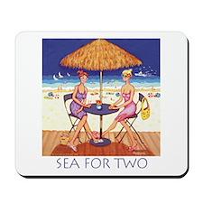 Sea for Two - Beach Mousepad
