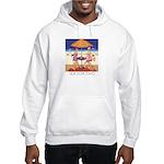 Sea for Two - Beach Hooded Sweatshirt