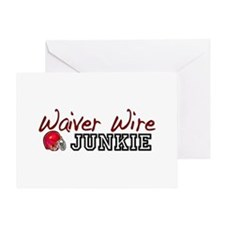 Waiver Wire Junkie Greeting Card