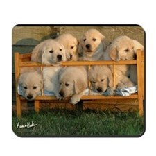 Golden Puppies Mousepad