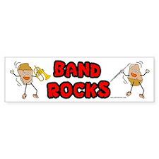 Band Rocks Bumper Bumper Sticker