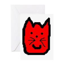 Kitty Happy Birthday Card