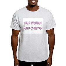 Half Woman Half Cheetah T-Shirt