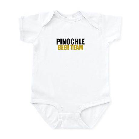 Pinochle Beer Team Infant Bodysuit