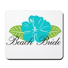 Beach Bride Mousepad