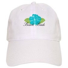 Beach Bride Baseball Cap