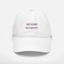 Half Woman Half Cassowary Baseball Baseball Cap