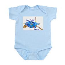 Sea Turtle 2 Rescue Infant Bodysuit
