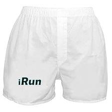 iRun, aqua trim Boxer Shorts