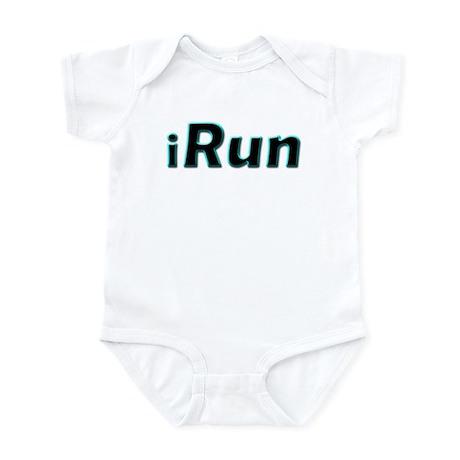 iRun, aqua trim Infant Bodysuit