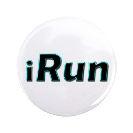 "iRun, aqua trim 3.5"" Button"
