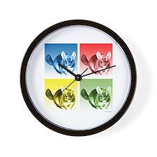 Chinchilla Pop Wall Clock