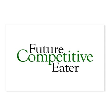 Future Competitive Eater Postcards (Package of 8)