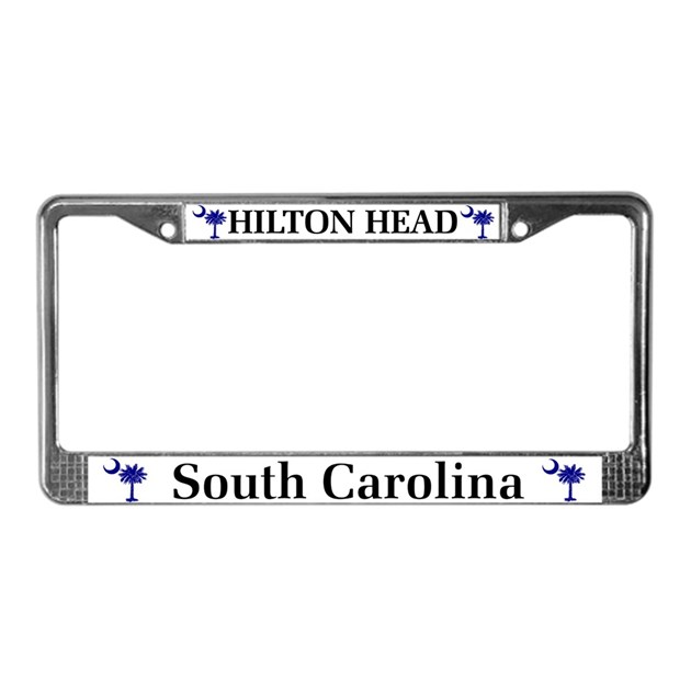 Glasses Frames Columbia Sc : Hilton Head Island License Plate Frame by scgear