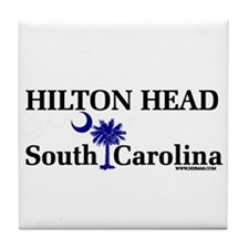Hilton Head Island Tile Coaster