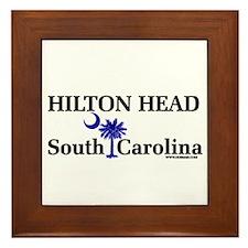 Hilton Head Island Framed Tile