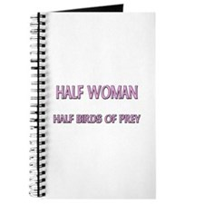 Half Woman Half Birds Of Prey Journal