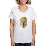 Metro PD Sergeant Women's V-Neck T-Shirt
