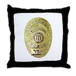 Metro PD Sergeant Throw Pillow
