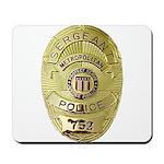 Metro PD Sergeant Mousepad