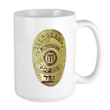Metro PD Sergeant Mug