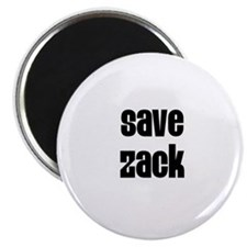 "Save Zack 2.25"" Magnet (10 pack)"