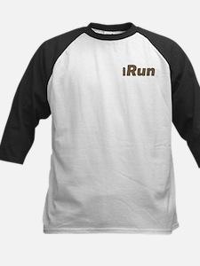 iRun, bandage (front & back) Kids Baseball Jersey