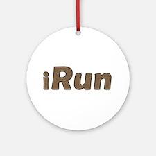 iRun, bandage Ornament (Round)