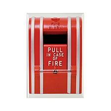 Fire Alarm Rectangle Magnet