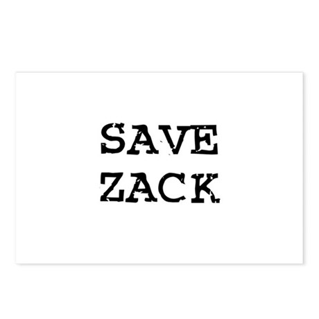 Save Zack Postcards (Package of 8)