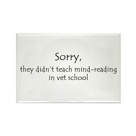 mind-reading Rectangle Magnet (100 pack)