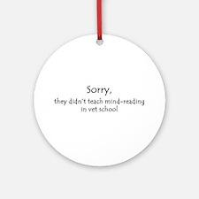 mind-reading Ornament (Round)
