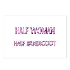 Half Woman Half Bandicoot Postcards (Package of 8)