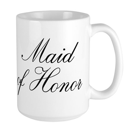 Maid of Honor Large Mug