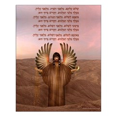 Middle East Peace Angel : 16x20 Poster