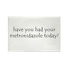 metronidazole Rectangle Magnet