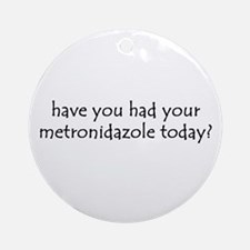 metronidazole Ornament (Round)