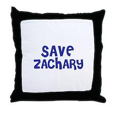 Save Zachary Throw Pillow