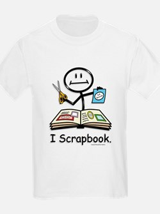 BusyBodies Scrapbooking Kids T-Shirt