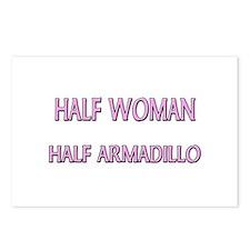 Half Woman Half Armadillo Postcards (Package of 8)