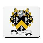 Foreman Family Crest Mousepad