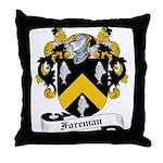 Foreman Family Crest Throw Pillow