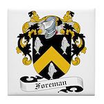 Foreman Family Crest Tile Coaster