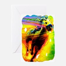 Horse soccer Greeting Card