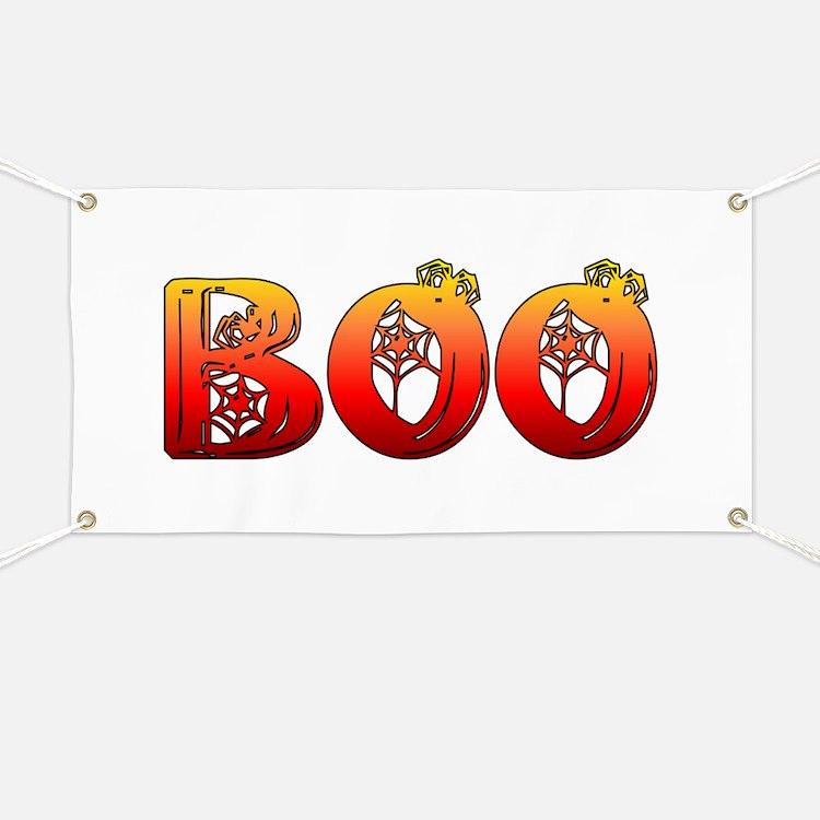 Boo Halloween T-Shirt Banner